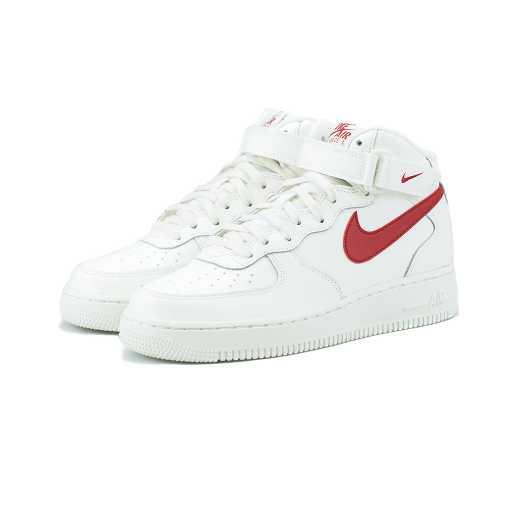low priced 4bc16 2d274 Nike - Air Force 1 Mid  07 (Sail University Red) – amongst few