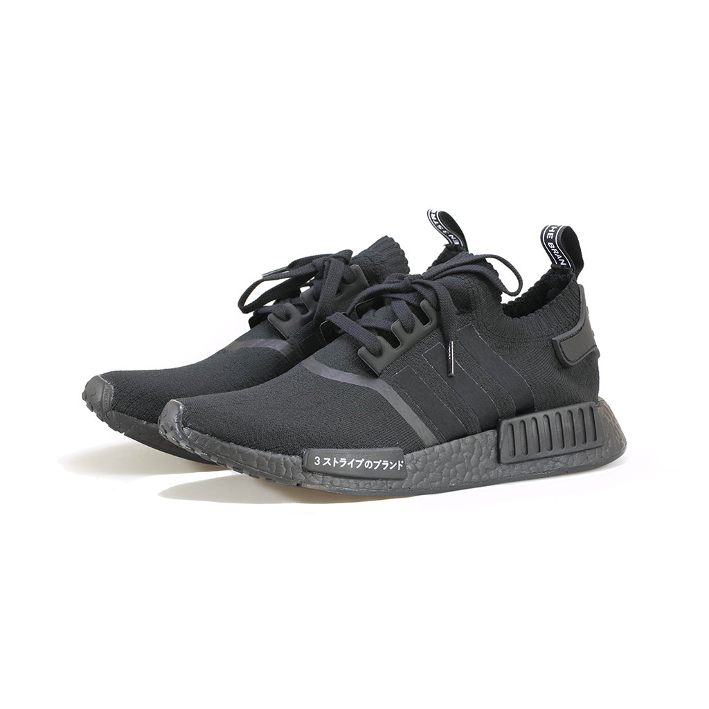 brand new d4725 5061e adidas Originals - NMD R1 Primeknit Japan Triple Black (Core BlackC –  amongst few