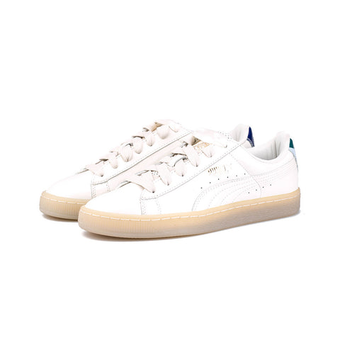 PUMA - CAREAUX Basket Bow (Whisper White)