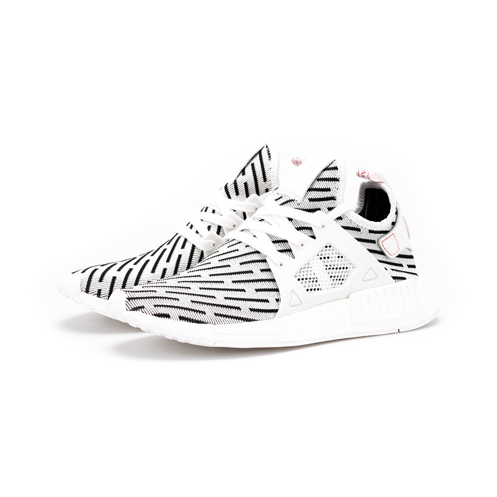 323b9e9afc90c adidas Originals - NMD XR1 Primeknit  Zebra  (Black White) – amongst few