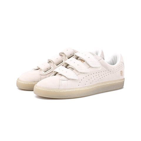 PUMA - CAREAUX Basket Strap (Whisper White)