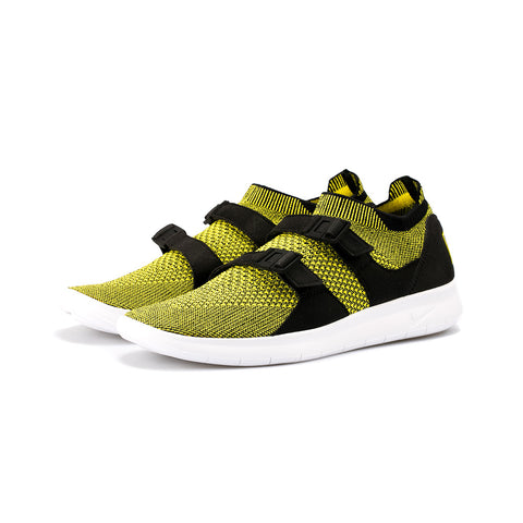 41408adb9774 Sale Nike - Air Sock Racer Flyknit (Yellow Strike Yellow Strike)
