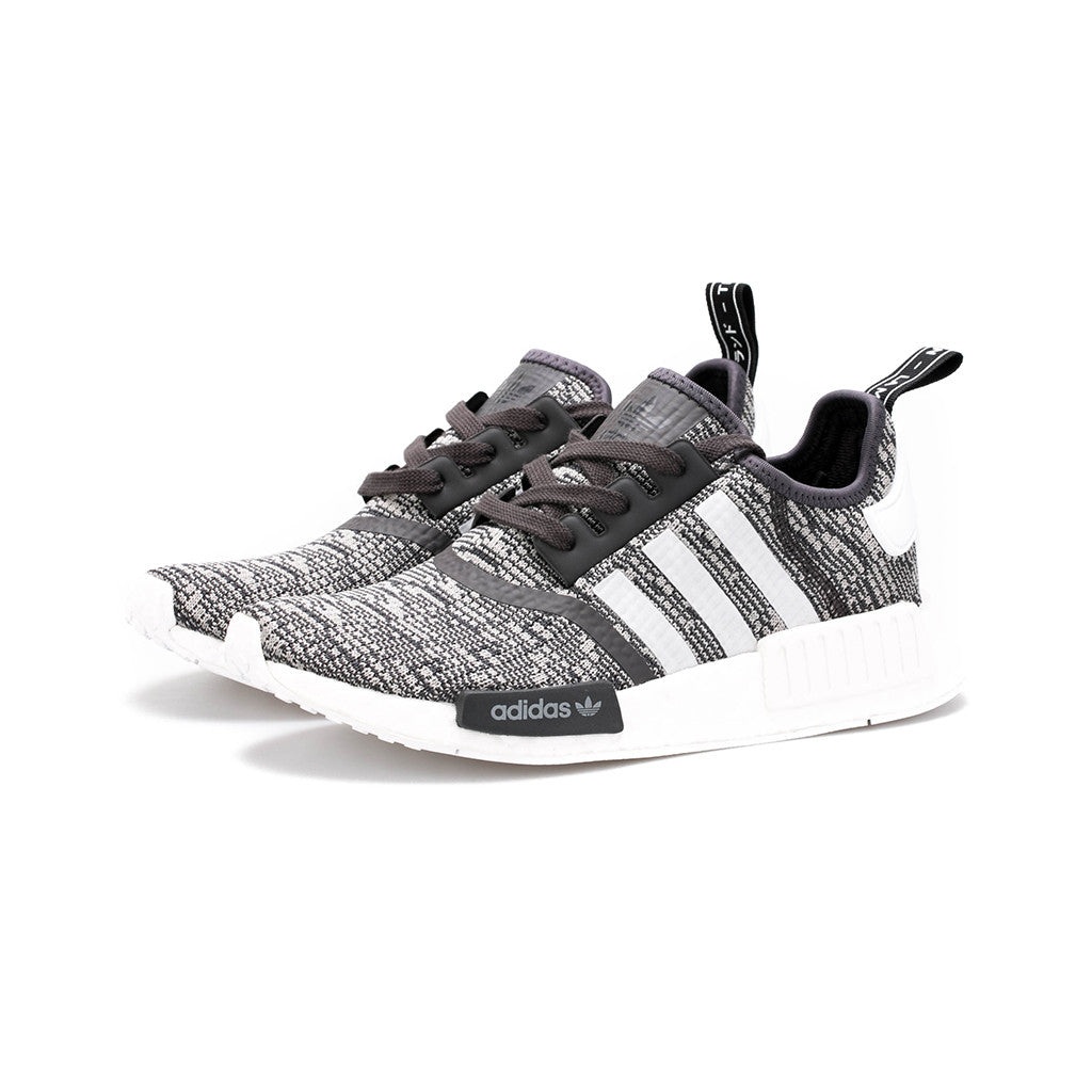 fa65f26a1 adidas Originals - NMD R1 W  Glitch Camo  (Utility Black White Medium –  amongst few