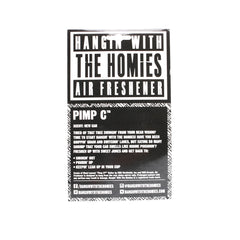 Hangin' With The Homies - Pimp C Players Anthem Air Freshener
