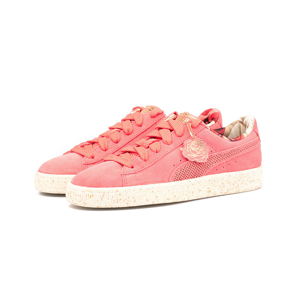 9dab9d237a1 ... Courtside Sneakers PUMA - W Suede x CAREAUX x ROSE  (PorcelainRose-Whisper White) ...