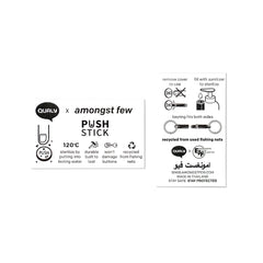 amongst few x Qualy - Push Stick (Black)