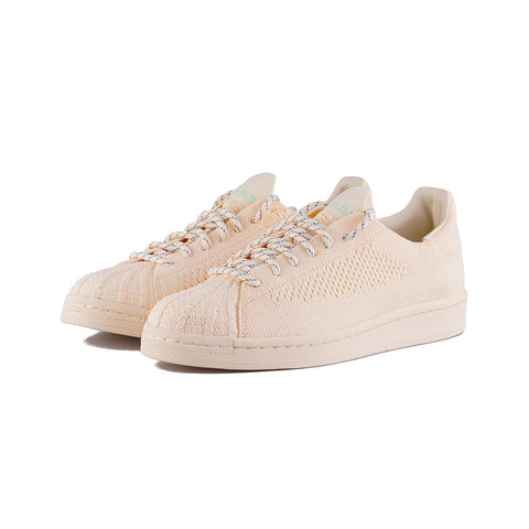 adidas Originals - PW Superstar PK (Ecru Tint/Core White/Glory Mint)