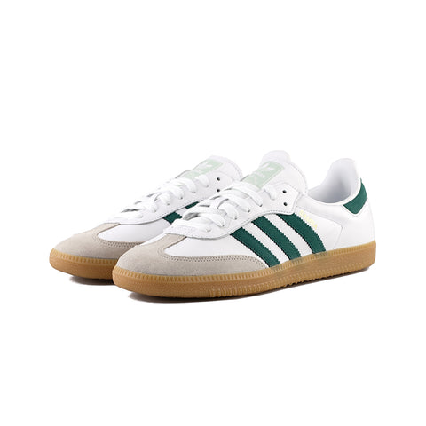 adidas Originals - Samba OG (Cloud White/Collegiate Green/Vapour Green)