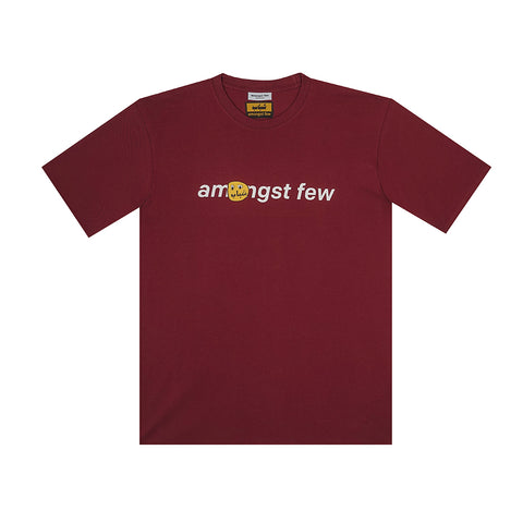 amongst few x Shabab Intl  - Pact T-Shirt (Burgundy)