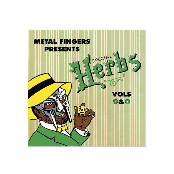 MF Doom - Metal Fingers Presents: Special Herbs Vols. 9 & 0 (LP)