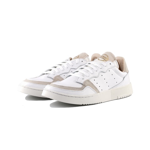 adidas Originals - SuperCourt (Cloud White/Cloud White/Crystal White)