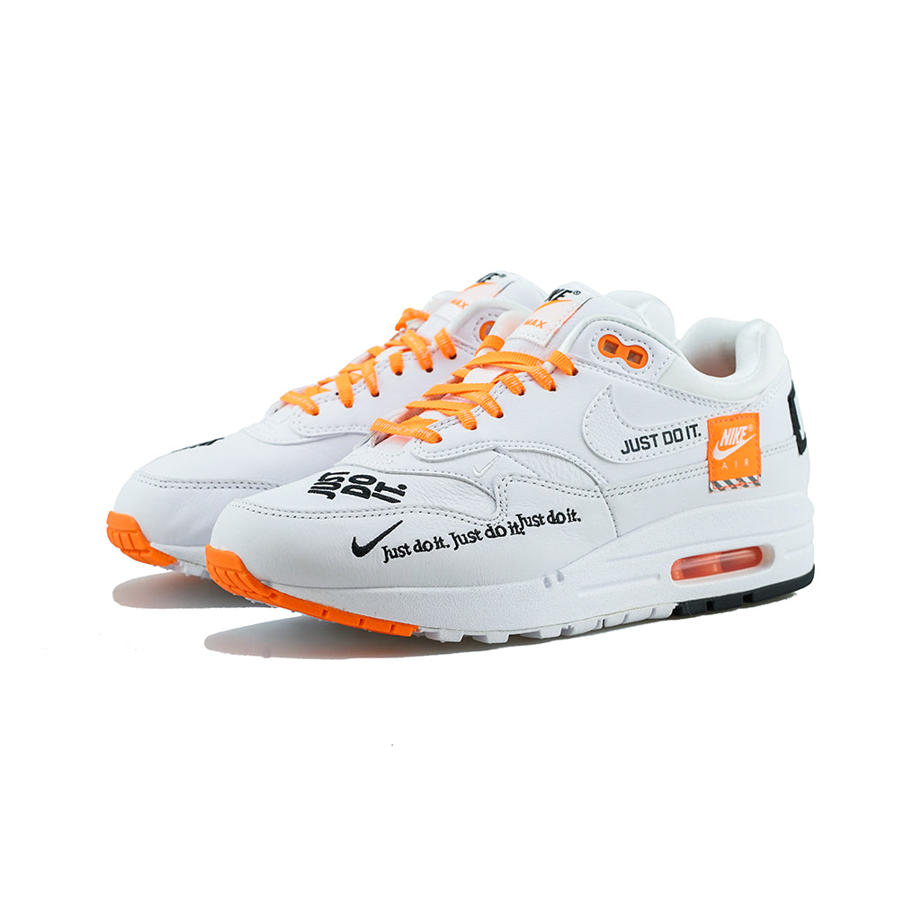 new styles b796d b1dcd Nike - WMNS Air Max 1 LX (White Black-Total Orange) – amongst few