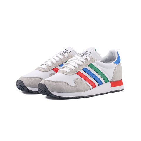 adidas Originals - USA 84 (Cloud White/Green/Blue)