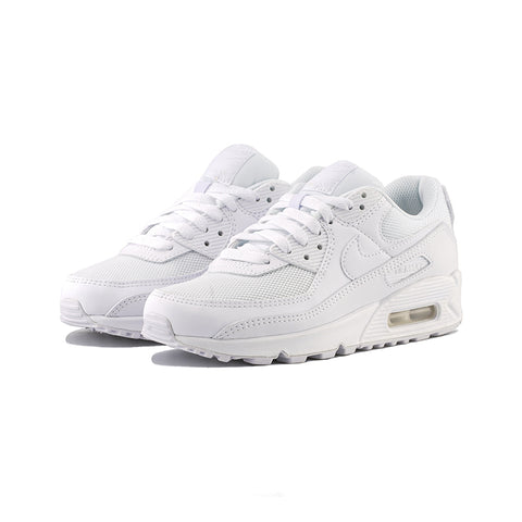 Nike - W Air Max 90 (White/White-White-Wolf Grey)