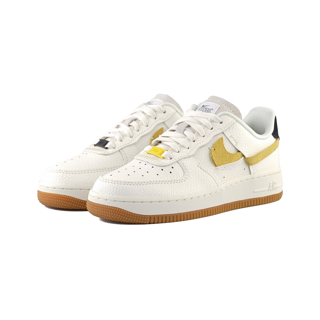 Nike WMNS Air Force 1 '07 LXX (SailBlack Chrome Yellow White)