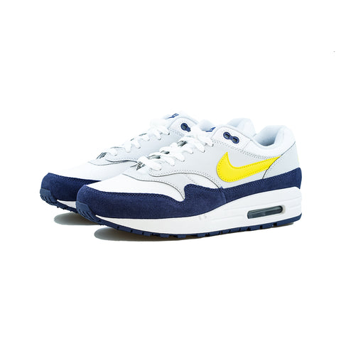 Nike - Air Max 1 (White/Tour Yellow-Blue Recall)