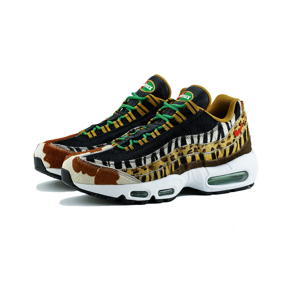 ee7f2e73ce9f Nike - Air Max 95 DLX  Atmos Animal Pack 2.0  (Pony Sport Red-Black) –  amongst few