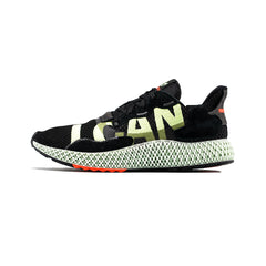 adidas - ZX 4000 4D (Core Black/Hi-Res Yellow/Bright Cyan)