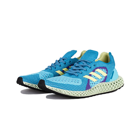 adidas - ZX Carbon (Light Aqua/Yellow Tint/Purple)