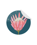 Round Protea Sticker