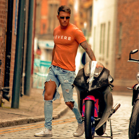 Tom Zanetti Vevere Orange Sorrento T Shirt