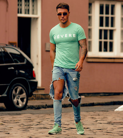 Tom Zanetti Vevere Mint T Shirt