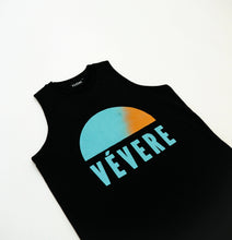 Load image into Gallery viewer, Black Sunset Sleeveless Tee - Vevere