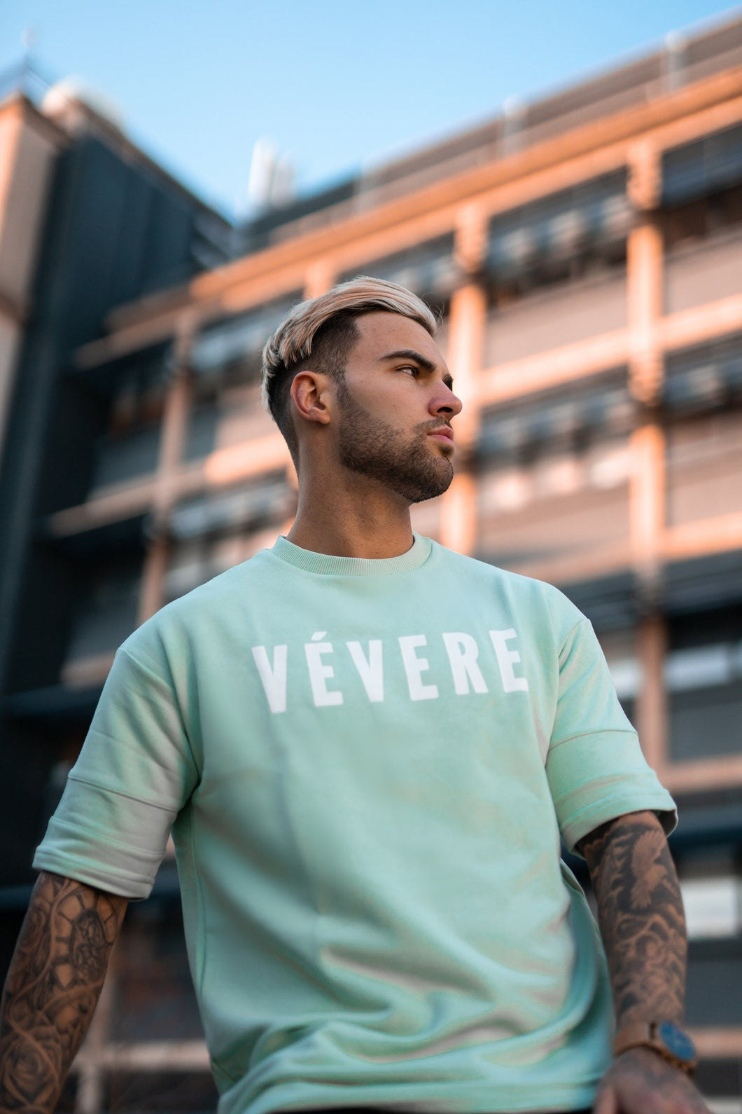Pastel Green Oversized T-Shirt - Vevere