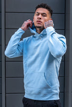 Load image into Gallery viewer, Dusky Blue Tré Hoodie