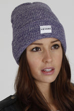 Load image into Gallery viewer, Brescia Purple Beanie Hat - Vevere