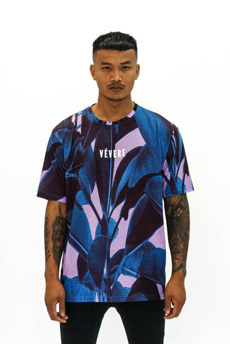 Dark Tropical Oversized Tee - Vevere