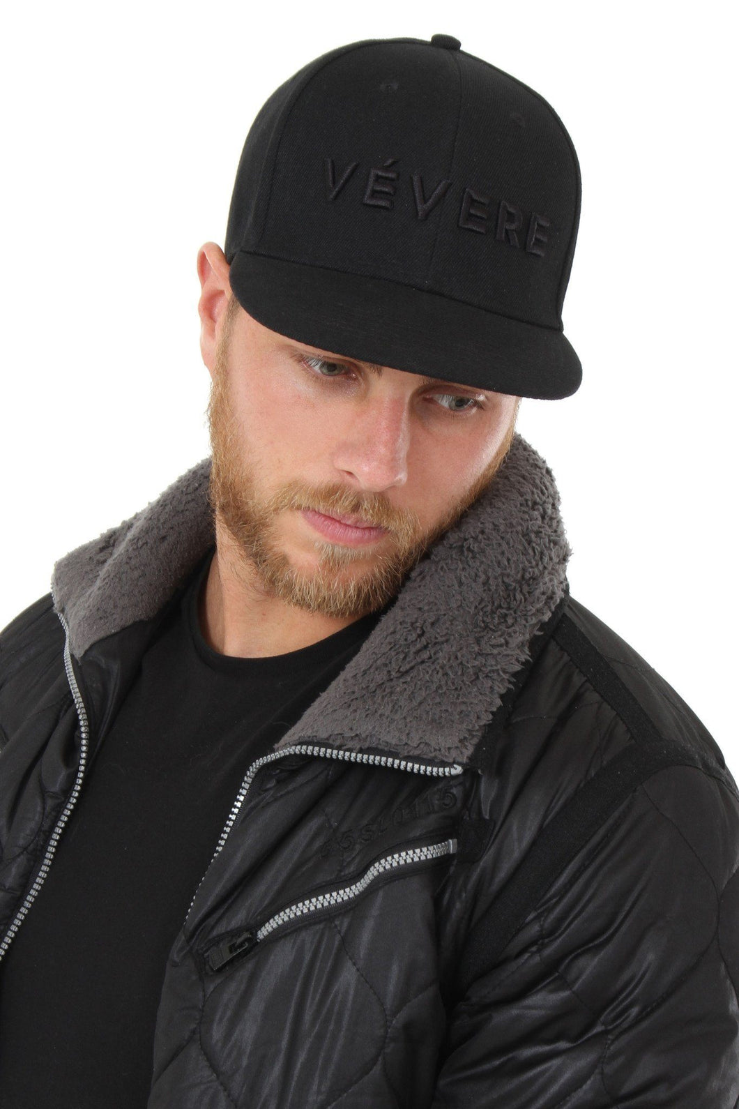 Napoli All Black Snapback Hat - Vevere