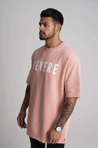 Peach Oversized T-Shirt - Vevere