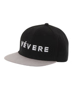 Load image into Gallery viewer, Napoli Black & Grey Snapback Hat - Vevere