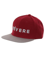 Load image into Gallery viewer, Napoli Maroon & Grey Snapback Hat - Vevere