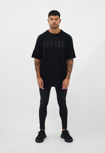 All Black Oversized T-Shirt - Vevere