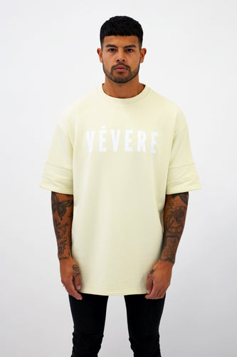 Cream Oversized T-Shirt