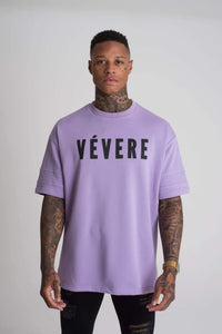 Lilac Oversized T-Shirt - Vevere