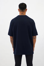 Load image into Gallery viewer, Navy Blue Oversized T-Shirt - Vevere