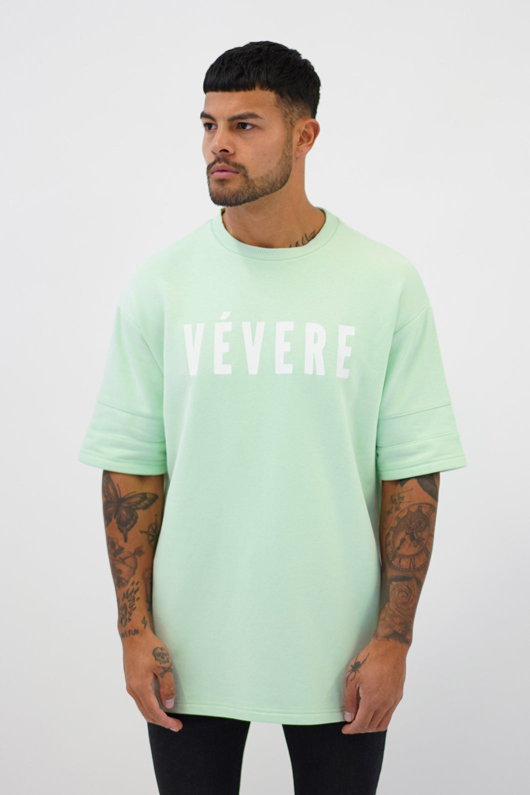 Pastel Green Oversized T-Shirt