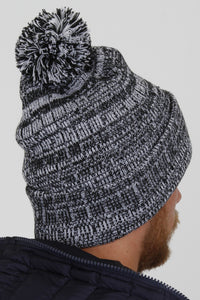 Vicenza Black Bobble Hat - Vevere