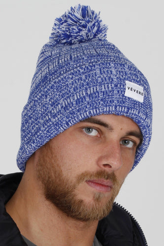 Vicenza Blue Bobble Hat - Vevere
