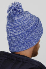 Load image into Gallery viewer, Vicenza Blue Bobble Hat - Vevere