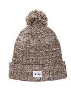 Load image into Gallery viewer, Vicenza Gold & White Bobble Hat - Vevere