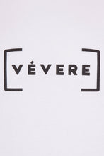 Load image into Gallery viewer, White Oversized Short Sleeve Sweater - Vevere