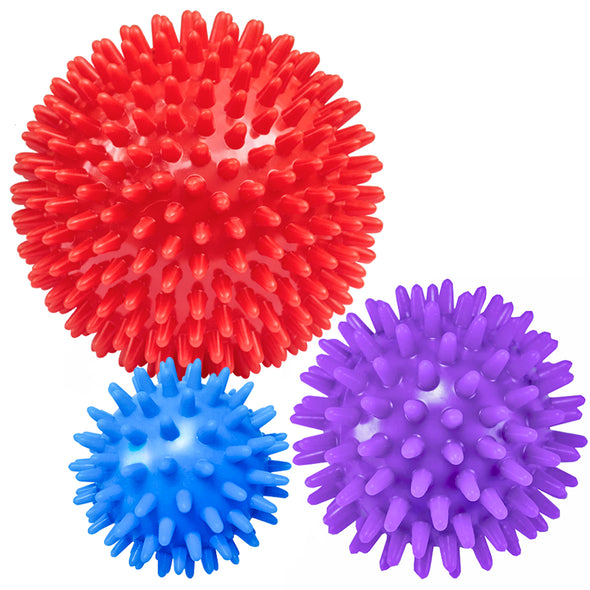 Spiky Massage Balls (Set of 3)