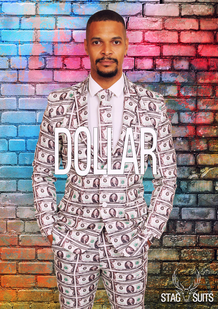 $100 Dollar Money Stag Suit - Stag Suits