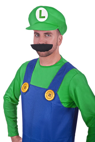 Super Plumber Green Brothers Adult Fancy Dress Costume