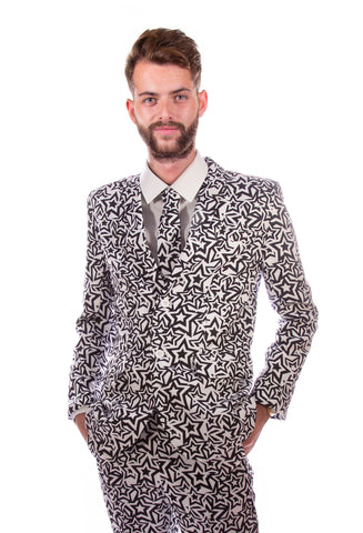 Comic Strip Retro Stag Suit
