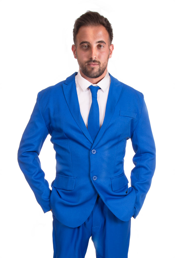 Blue Original Mens Stag Suit - Stag Suits